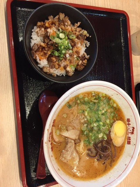 味千拉麺 久留米店のラーメン