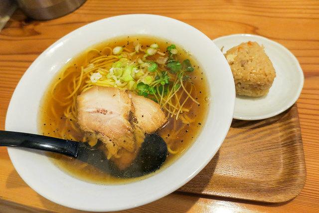 麺や 佐渡友のラーメン