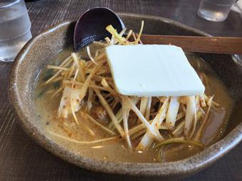 蔵出し味噌 麺場彰膳 南福岡店のラーメン