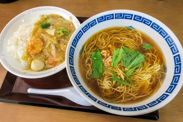 中華食堂 劉 糸島本店のラーメン