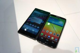 Sony Xperia Z1 und LG G2
