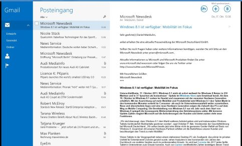 windows 81 mail app