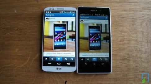 Sony Xperia Z1 Display