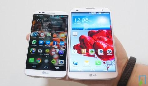 LG G2 vs G Pro 2