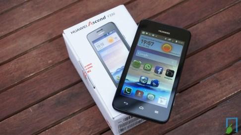 Huawei Ascend Y330 Test