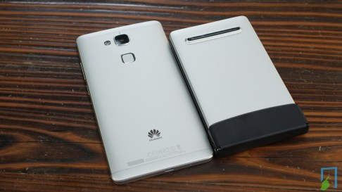 Flyshark Tastatur Größenvergleich Huawei Ascend Mate 7