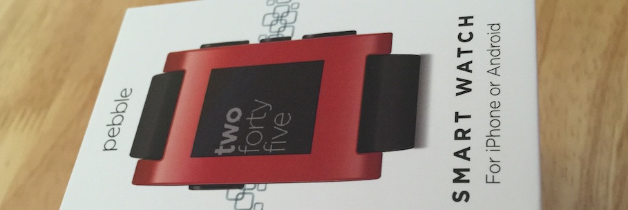 Pebble Watch Unboxing & Review
