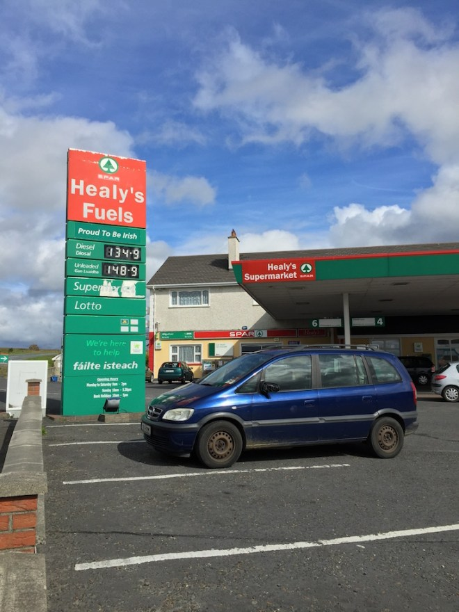 Wild Atlantic Way - Healy's Fuel and Funerals - How to own a town!