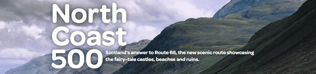 North Coast 500 : Scotland : NC500