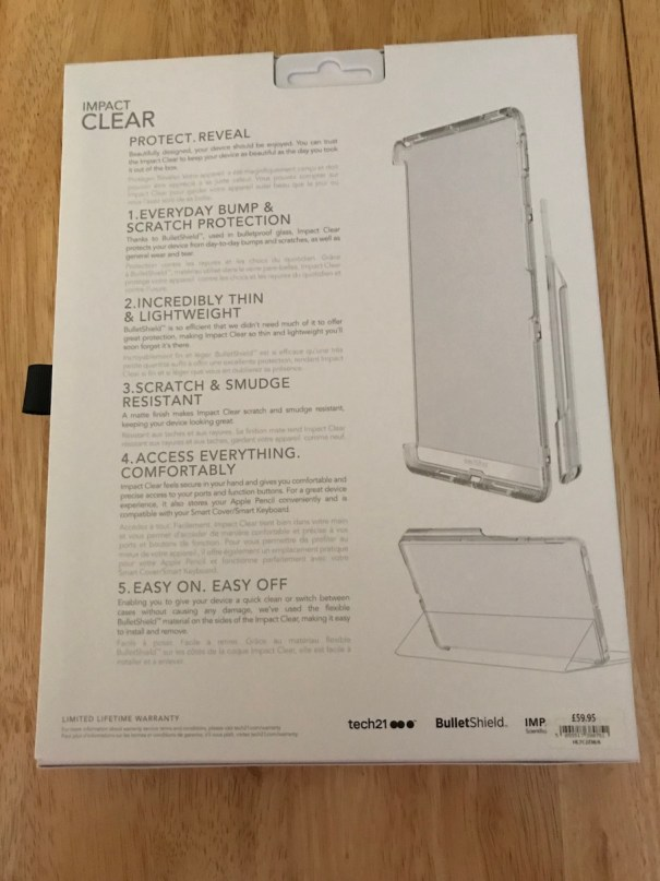 Tech21 Impact Clear (Rear) Case