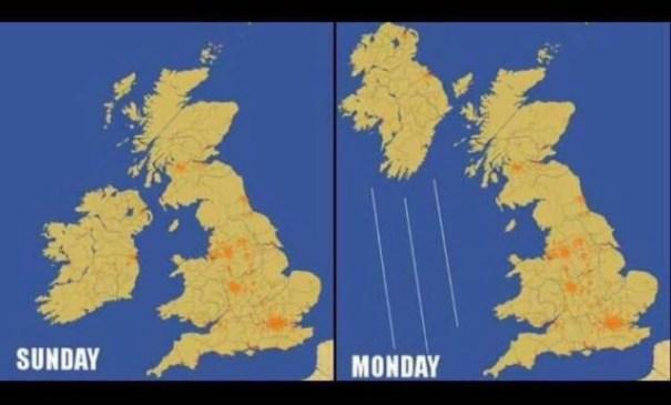 Northern Ireland Storm Ophelia