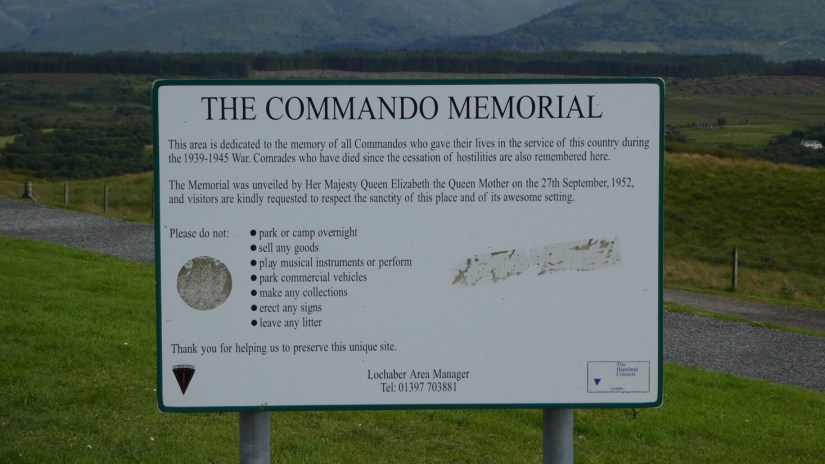 NC500 : North Coast 500 Scottish Highlands - The Commando Memorial