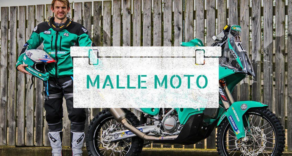 Lyndon Poskitt AdventureSpec Dakar 2017 Malle Moto