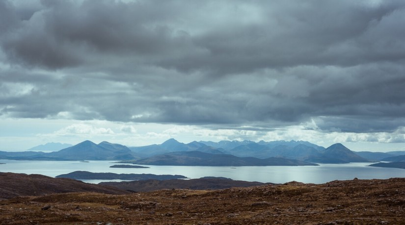 Bealach Na Ba Viewpoint - Scotland's North Coast 500 Route