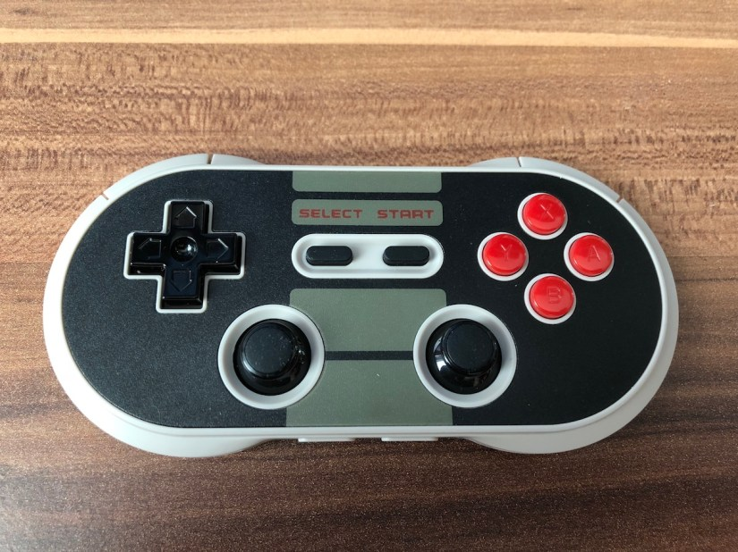 8BitDo N30 Pro Button Layout