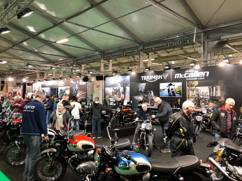Triumph Stand at 2018 NI Motorcycle Festival