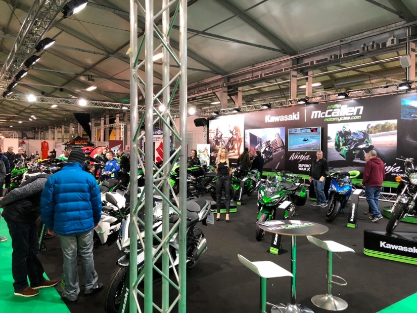 Kawasaki Stand at 2018 NI Motorcycle Festival