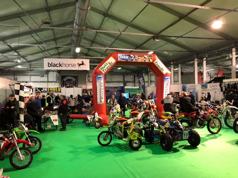 Club Displays at 2018 Northern Ireland Motorcycle Festival