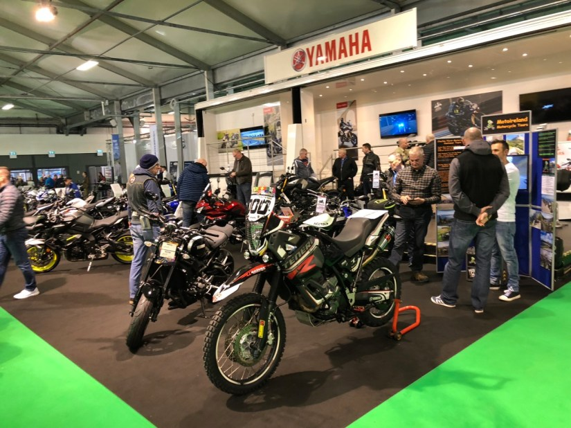 Yamaha Stand at 2018 NI Motorcycle Festival