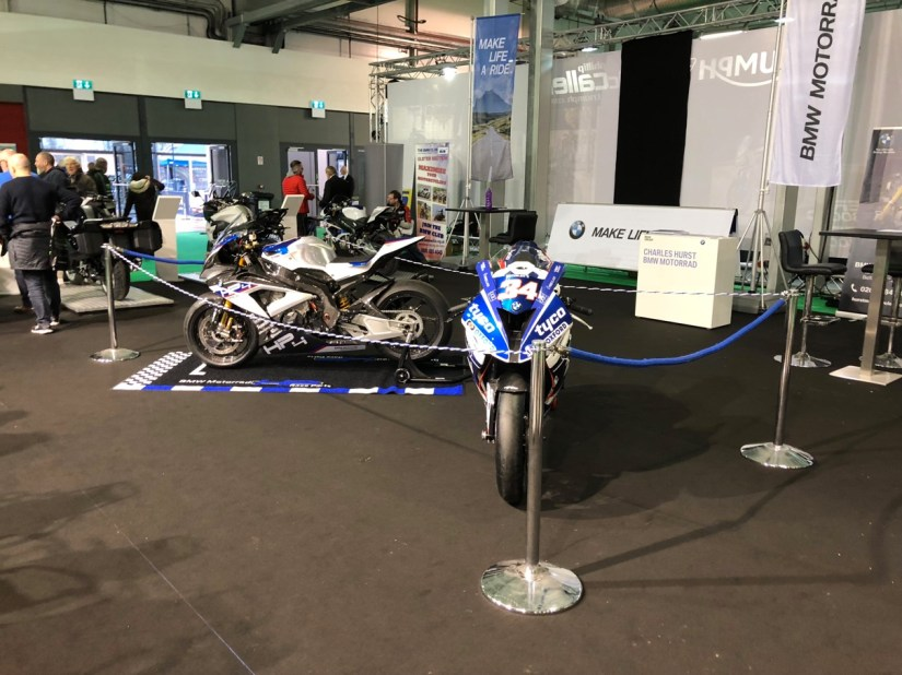 BMW Stand at 2018 NI Motorcycle Festival
