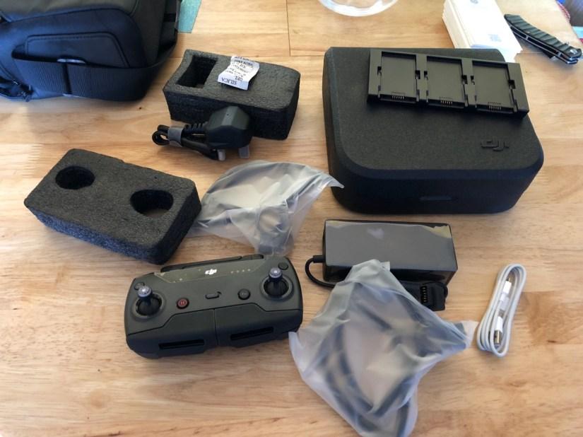DJI Spark Flymore Bag - Unpacked