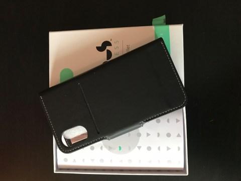 Mous Leather Flip Wallet