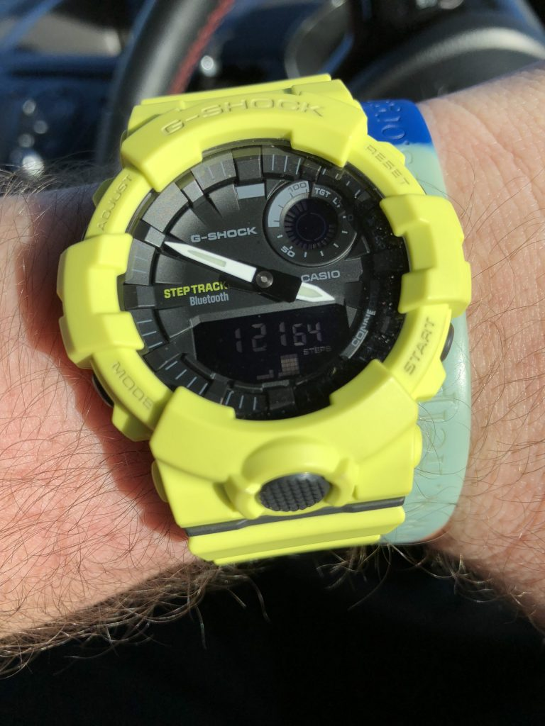 G-Shock GBA-800 Tracking