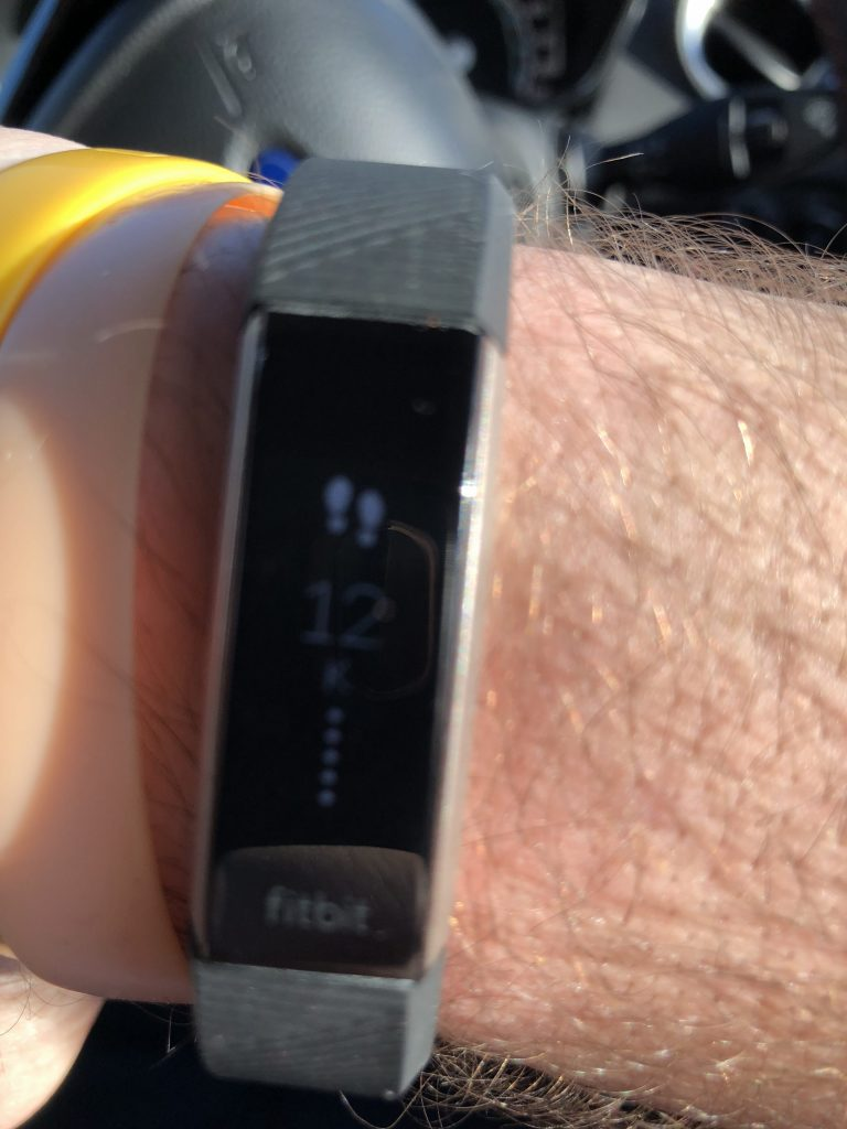 FitBit Alta HR Tracking