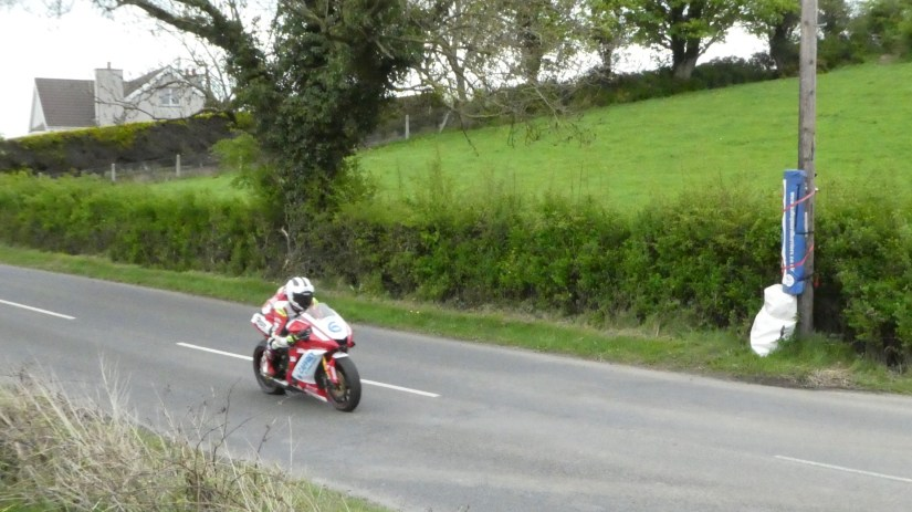 William Dunlop at the 2018 Tandragee 100