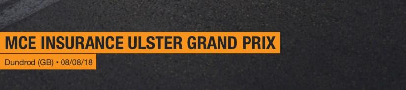 2018 Ulster Grand Prix