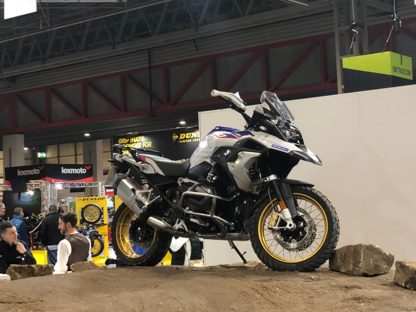 BMW at Motorcycle Live 2018