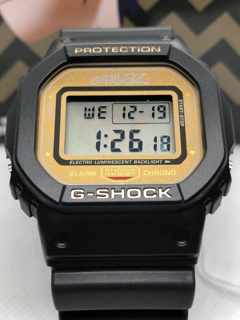 Casio G-Shock X Gorillaz : 2-D