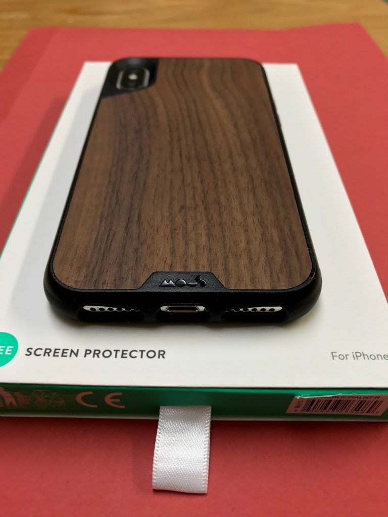 Mous Limitless 2.0 Walnut iPhone X Case