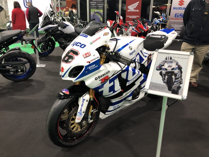 NI Motorcycle Festival 2019 : Tyco BMW Race Bike