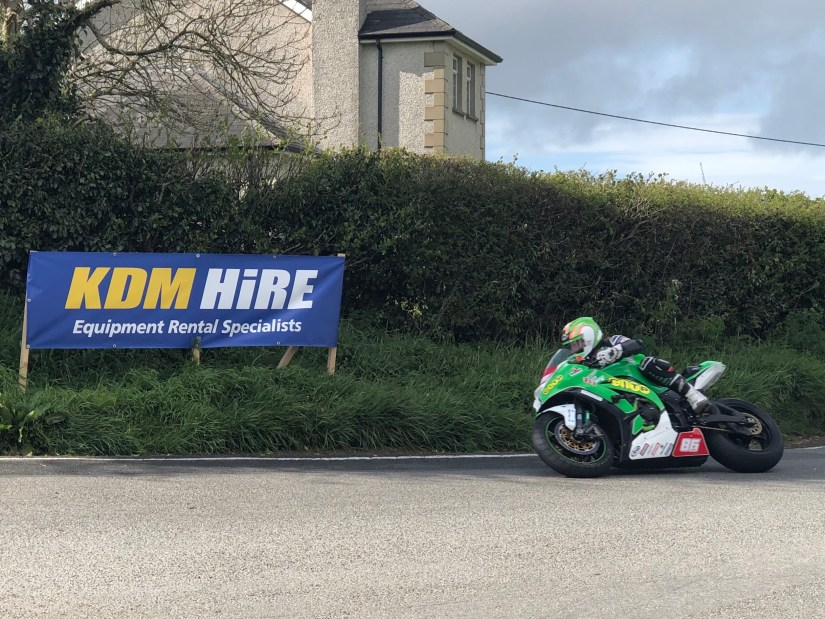 Derek McGee looking for another win at the 2019 Cookstown 100