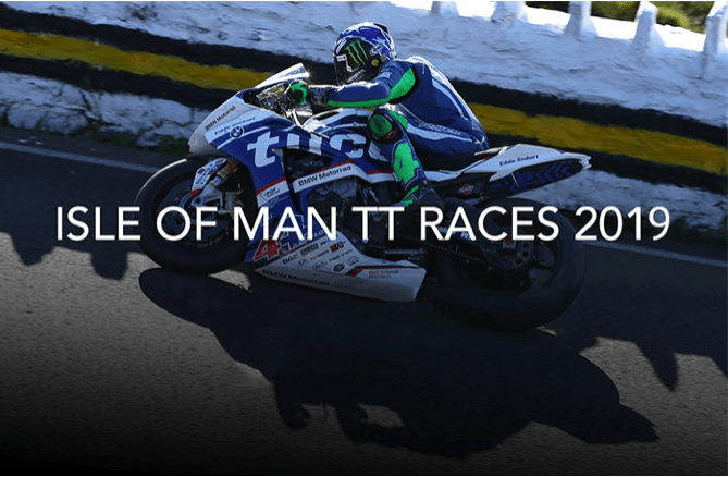 2019 Isle of Man TT Banner