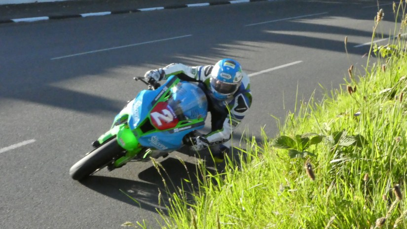 Dean Harrison at the 2019 TT Races