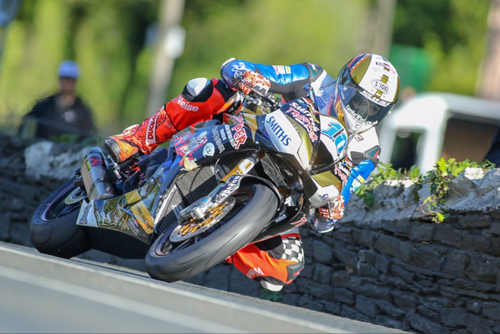 Peter Hickman during the 2019 TT Monster Energy Supersport Race 2