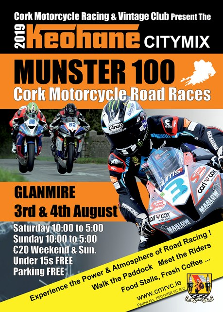 2019 Munster 100 3rd / 4th August 2019