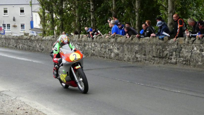 2019 Armoy Races : Dominic Herbertson in the Senior Classic Race