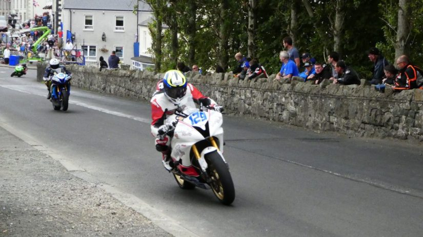 2019 Armoy Races : Ryan Fenton in the Senior Support Race
