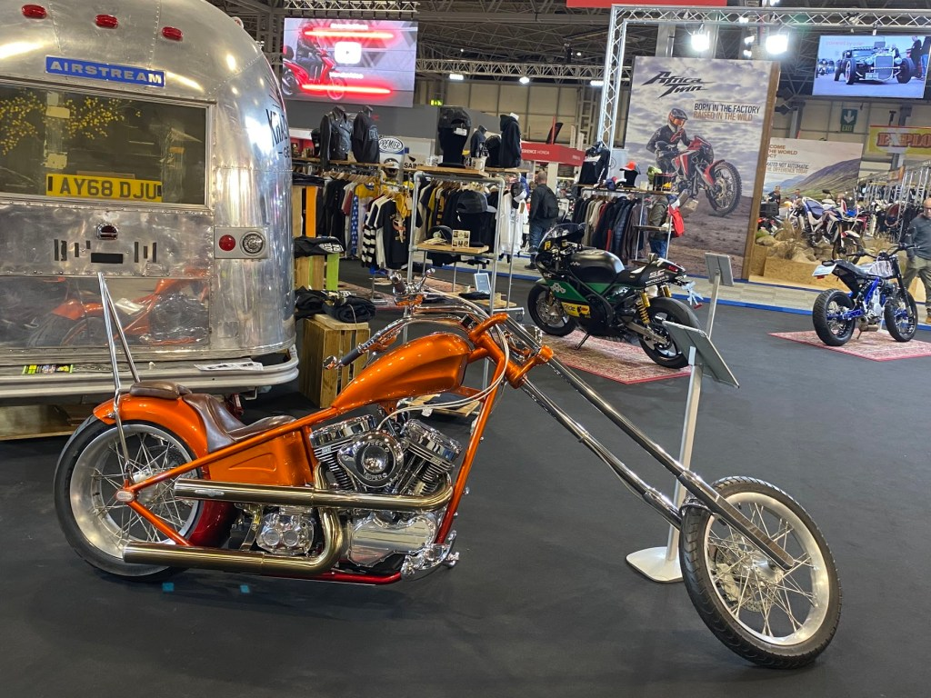 Some Stunning Examples of Customisation on Display at Motorcycle Live 2019