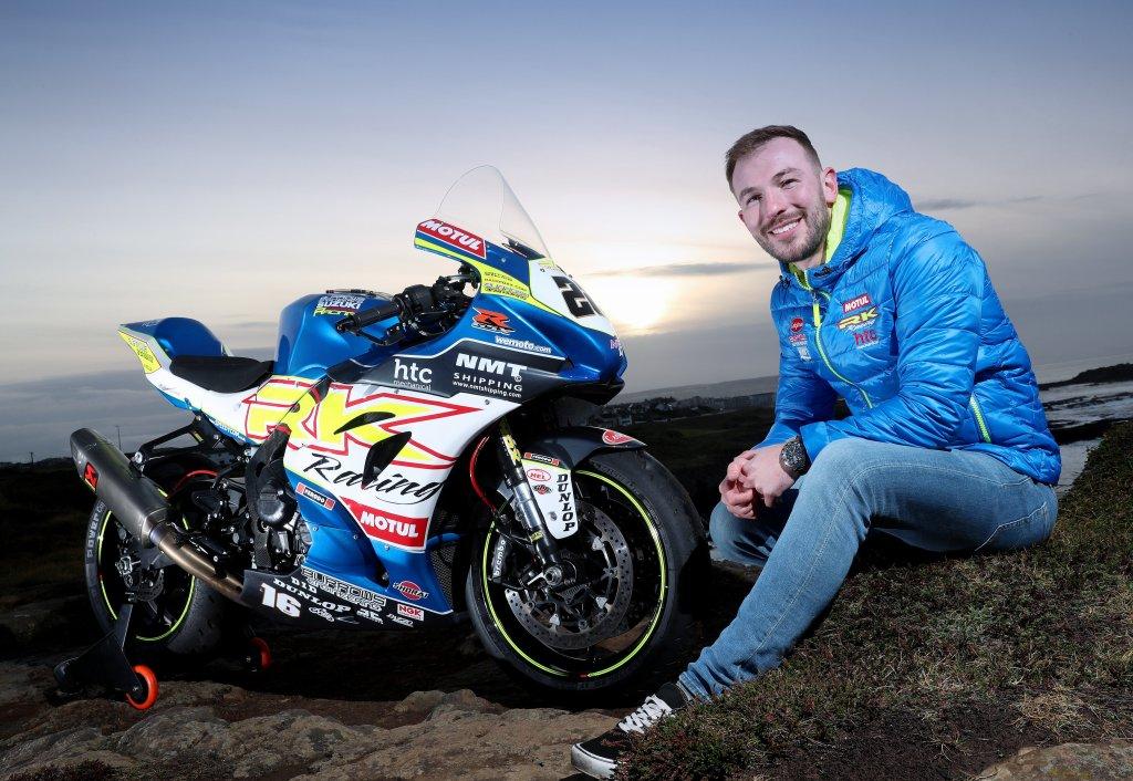 Paul Jordan will ride for Burrows Engineering / RK Racing at the 2020 Irish National Races