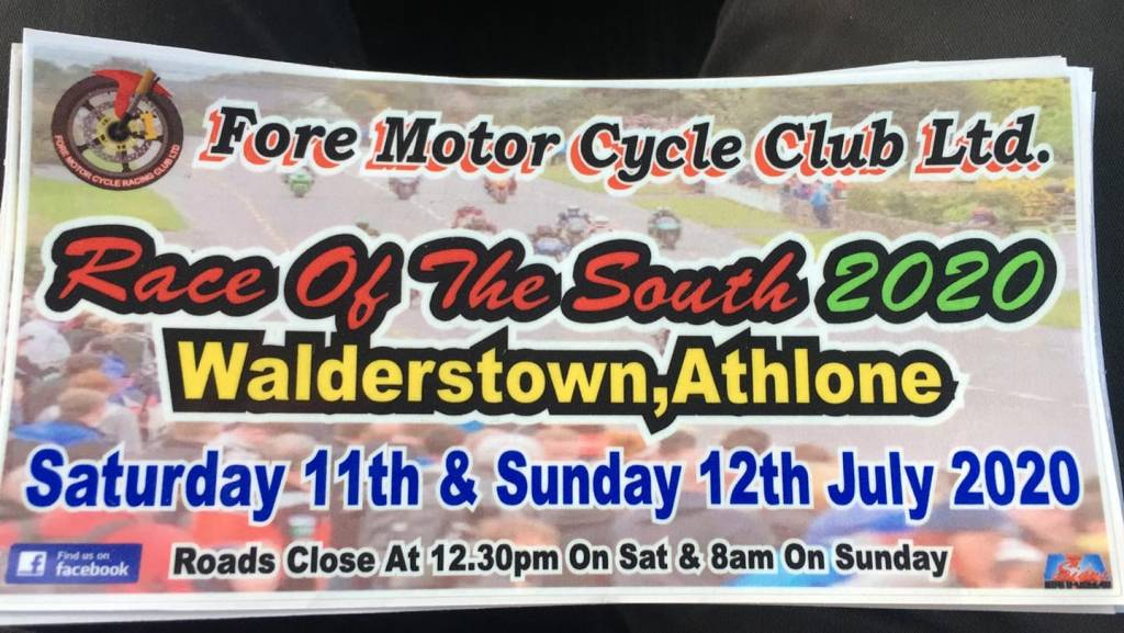 2020 Walderstown Road Races Cancelled :