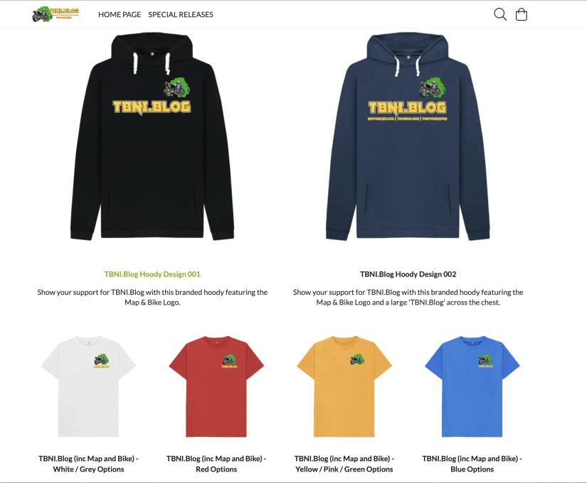 TBNI.Blog Merchandise Store