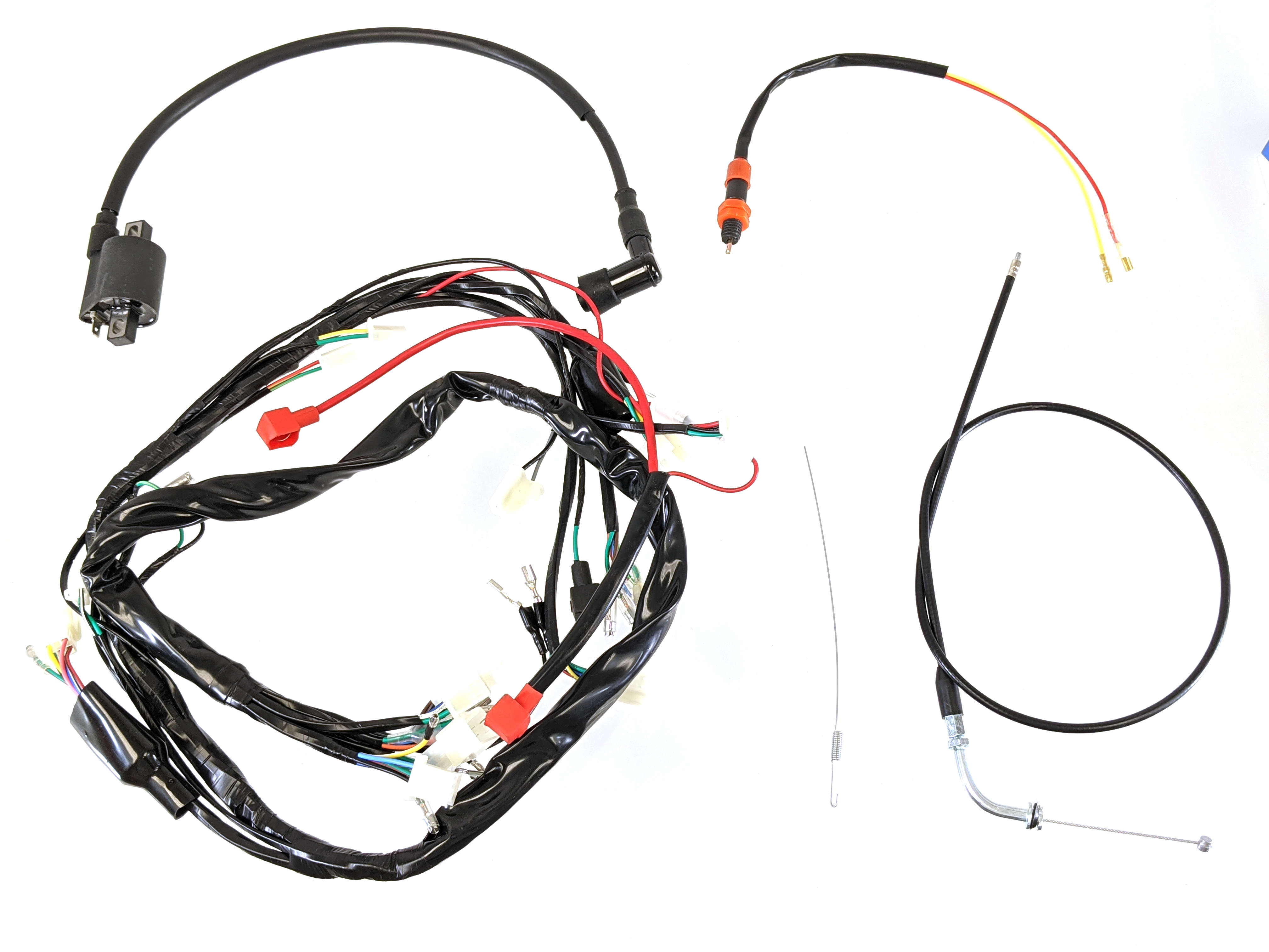 Ct70 Headlight And Wiring Kit For Ct70 With Zs190 Or Yx140