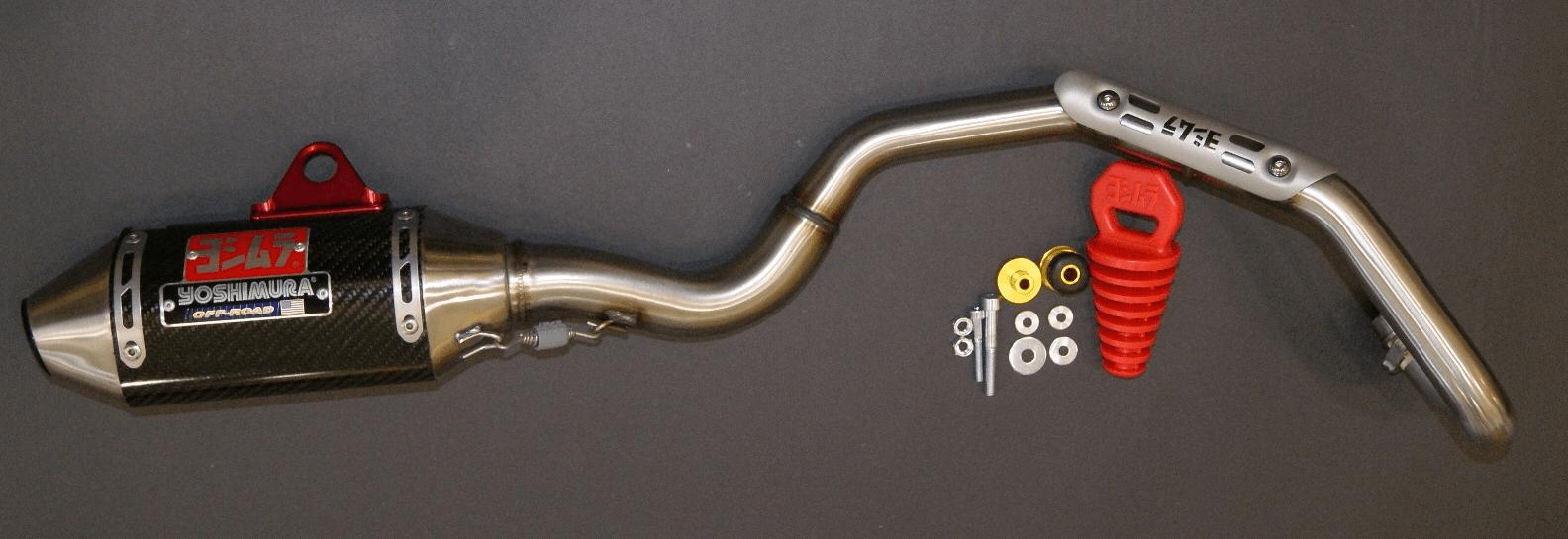 yoshimura rs 2 ss carbon exhaust system for klx110 klx110l