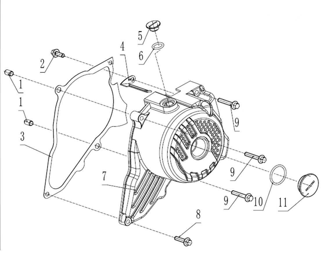 Zs 190 Ignition Cover
