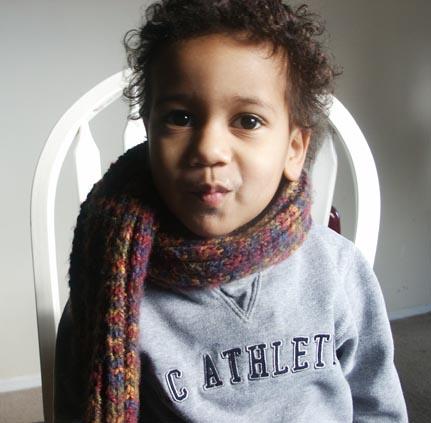 daniel in scarf