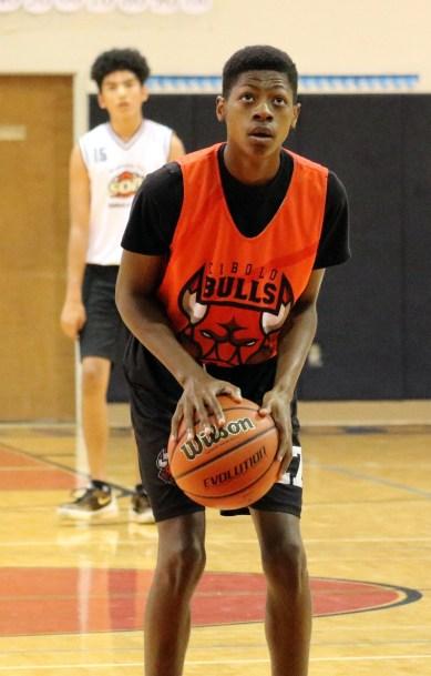 Adeola Grayson Free Throw